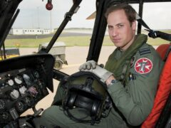 The Duke of Cambridge trained as a helicopter pilot (SAC Faye Storer/MoD/PA)