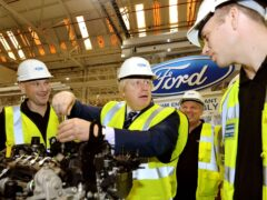 Some 500 automotive jobs will reportedly be saved on Merseyside after Ford selected Halewood to help realise its plan to sell only electric cars in the UK and Europe by 2030 (John Stillwell/PA)