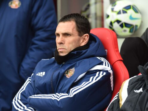 Gus Poyet was named Sunderland manaer on a two-year contract eight years ago (Owen Humphreys/PA)