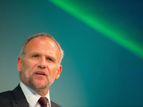 Former Tesco Group chief executive Sir Dave Lewis (Dominic Lipinski/PA)