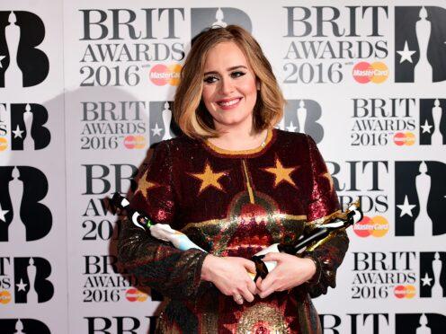 Adele (Ian West/PA)