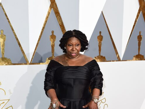 A US TV star has apologised after making an on-air joke about Whoopi Goldberg's weight (Ian West/PA)
