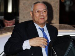 Former US secretary of State Colin Powell (Andrew Milligan/PA)