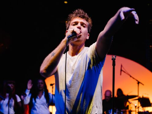 Paolo Nutini is the number one most played Scottish Album of the Year (Say) Award artist (Euan Robertson/PA)