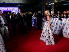Amanda Holden attending the Pride of Britain Awards 2017 (Ian West/PA)