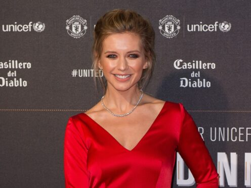 Rachel Riley is pregnant with her second child (Peter Powell/PA)