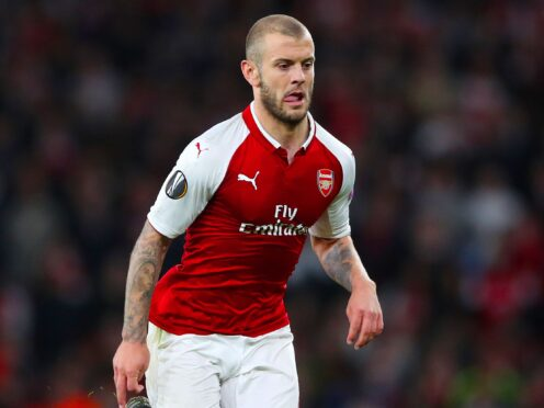 Jack Wilshere has been training with former club Arsenal. (Nick Potts/PA)