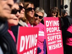 Hundreds of medical professionals have written an open letter to Health Secretary Sajid Javid, saying they oppose plans for a new law on assisted dying and will refuse to help people take their own lives (Kirsty O'Connor/PA)