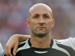 Fabien Barthez played his final international match in the 2006 World Cup final (Cathal McNaughton/PA)