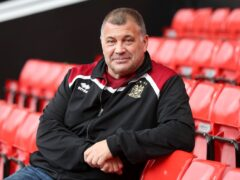 Former Wigan head coach Shaun Wane (pictured) will be on hand to help new boss Matt Peet after returning to the club in a new role (Martin Rickett/PA)