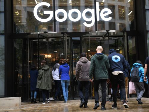 Google is to block digital adverts from appearing alongside climate change denial content across its platforms and on YouTube (Stefan Rousseau/PA)