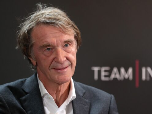 INEOS founder Sir Jim Ratcliffe has spoken about gas prices (Martin Rickett/PA)