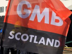 Members of GMB in Glasgow have voted in favour of industrial action (Lewis McKenzie/PA)