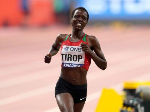 Kenya's Agnes Tirop won 10,000m bronze at the World Championships in 2019 and 2017 (Martin Rickett/PA)