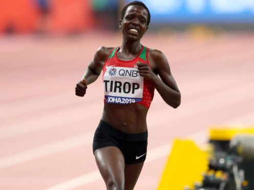Kenya's Agnes Tirop has died at the age of 25 (Martin Rickett/PA)