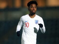 Angel Gomes is in the England Under-21 squad for the first time. (Mike Egerton/PA)