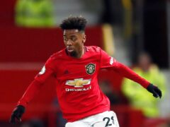 Angel Gomes has been guided by godfather Nani. (Martin Rickett/PA)