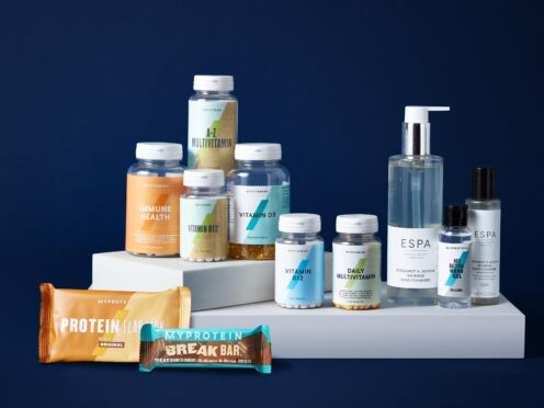 THG sells beauty and fitness products. (The Hut Group/PA)