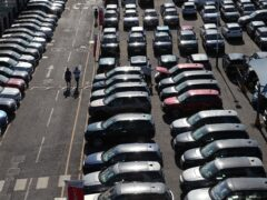 Last month was the worst September since 1998 for car sellers (Yui Mok/PA)