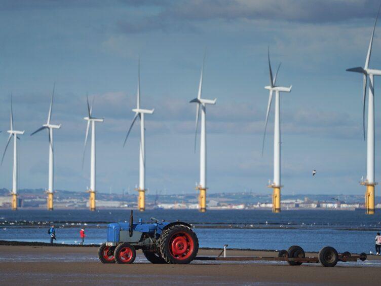 Teesside Wind Farm (Owen Humphreys/PA)