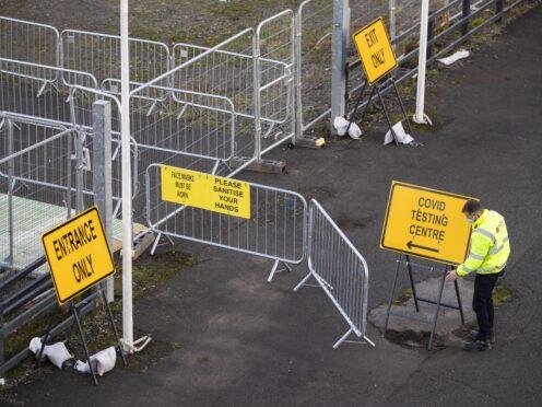 Weekly coronavirus-linked deaths in Scotland have fallen (Jane Barlow/PA)