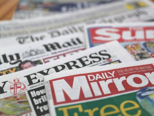 What the papers say – October 13 (PA)