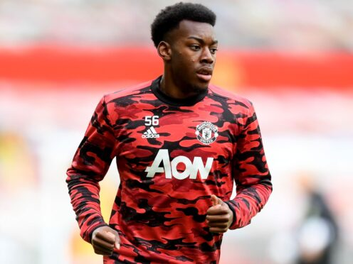 Manchester United's Anthony Elanga suffered alleged racial abuse while on international duty (Michael Regan/PA)