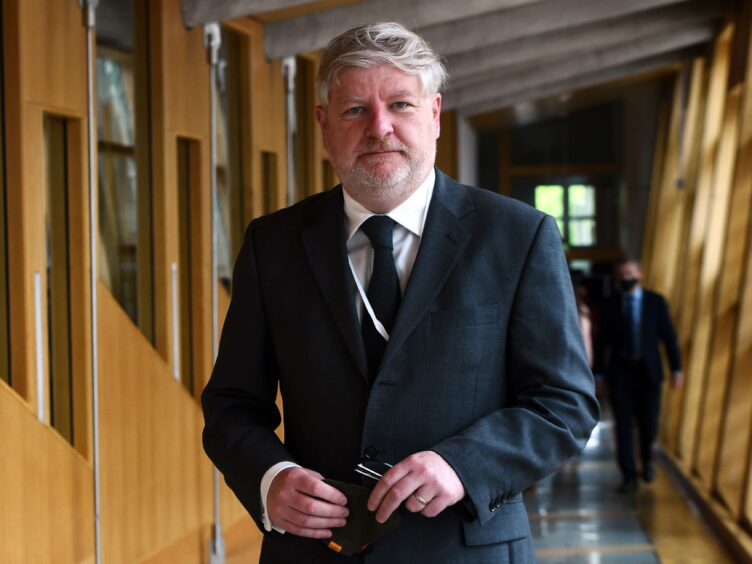 Angus Robertson said Scotland must become independent and re-enter the EU to shore up its labour market (Andy Buchanan/PA)