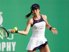"""Emma Raducanu is """"cutting myself some slack"""" after defeat in her first match as a grand slam champion"""