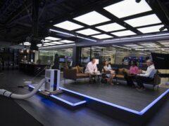 A GB News studio (Kirsty O'Connor/PA)