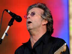 A guitar once belonging to Eric Clapton could fetch up to 500,000 dollars (£363,000) when it headlines an auction of rock and roll memorabilia (Stock image/Zak Hussein/PA)