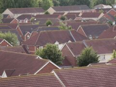 The average UK house price jumped by around £4,400 in September, pushing it to a new high of £267,587, according to Halifax (Yui Mok/PA)