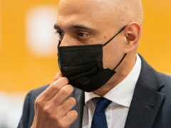 Health Secretary Sajid Javid has hit out at those mounting anti-vax protests outside schools (Toby Melville/PA)