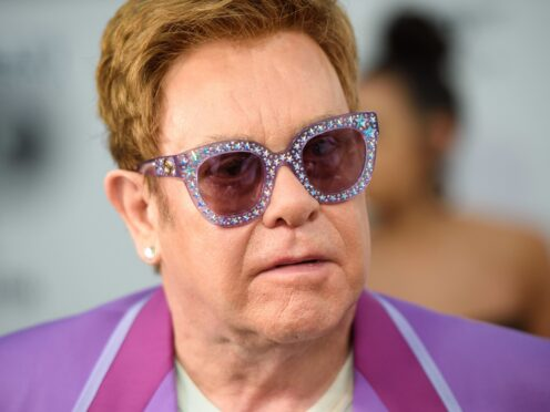 Sir Elton John has secured a new chart record (Matt Crossick/PA)
