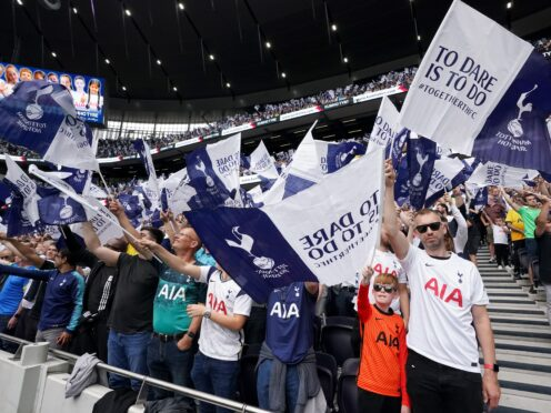 Tottenham Hotspur Supporters' Trust asked the club for a meeting (Nick Potts/PA)