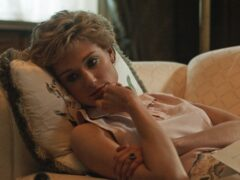 Elizabeth Debicki as Diana, Princess of Wales in the fifth season of the streaming website's show, The Crown (Netflix)