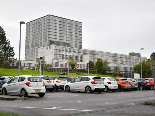 Staff at the head office of the DVLA in Swansea will vote on taking more industrial action (Ben Birchall/PA)