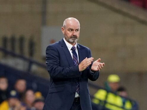 Scotland manager Steve Clarke intrigued about Hampden full house (Andrew Milligan/PA)