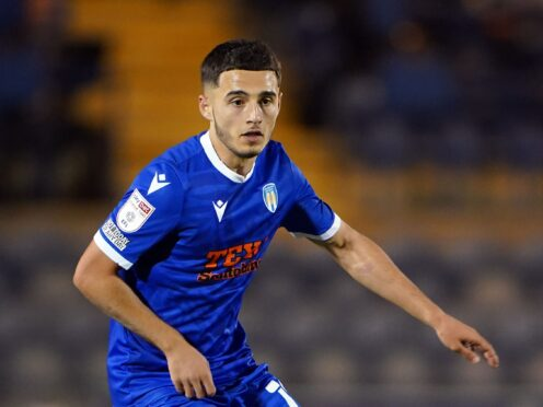 Armando Dobra is expected to be back in the Colchester squad (Joe Giddens/PA)