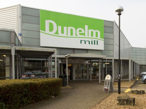 The boss of Dunelm has seen his pay package more than quadruple to over £4 million despite the homewares chain continuing to insist it should not repay savings made from the business rates holiday. (PA)