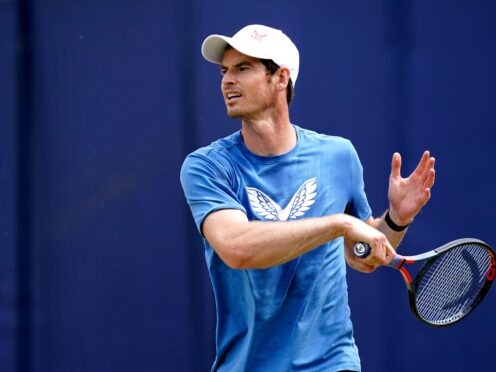 Andy Murray's wedding ring and tennis shoes have been recovered after an apparent theft in the California desert (John Walton/PA)