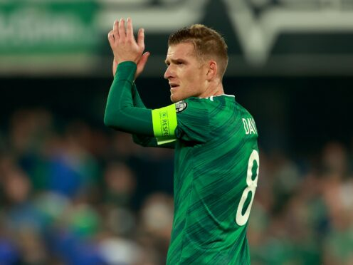 Steven Davis believes the pressure is on Switzerland ahead of Saturday's World Cup qualifier (Liam McBurney/PA)