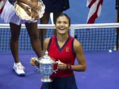 Emma Raducanu is looking to move on from her US Open triumph (Michael Nagle/Xinhua via PA Wire)