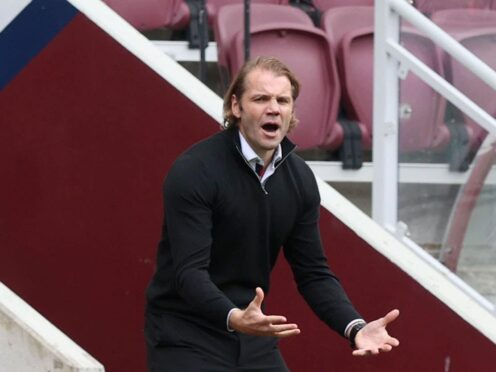 Robbie Neilson has demanded a brave approach from Hearts at Ibrox (PA)