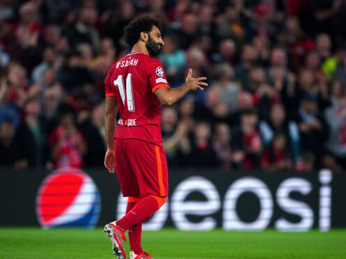 Mohamed Salah insists winning keeps him happy at Liverpool (Peter Byrne/PA)