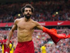 Mohamed Salah added another brilliant goal to his long list for Liverpool (Peter Byrne/PA)