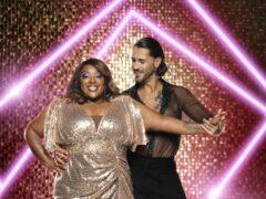 Judi Love and Graziano Di Prima (Ray Burmiston/BBC/PA)