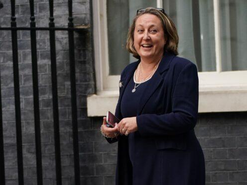 International Trade Secretary Anne-Marie Trevelyan (Victoria Jones/PA)