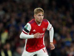 Arsenal's Emile Smith Rowe scored England Under-21s' winner in Andorra (Tim Goode/PA)