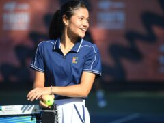 Emma Raducanu's journey into professional tennis has been partly funded by Amazon Prime Video (Jeremy Selwyn/Evening Standard/PA)